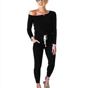 Women Casual Long Sleeve Off Shoulder Loose